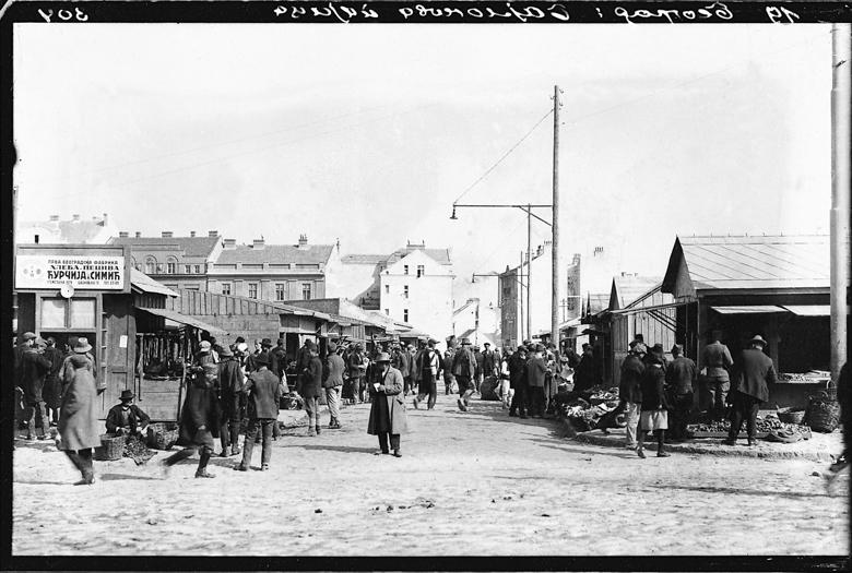 Slike starog Beograda - Page 3 Bajlonijeva-pijaca