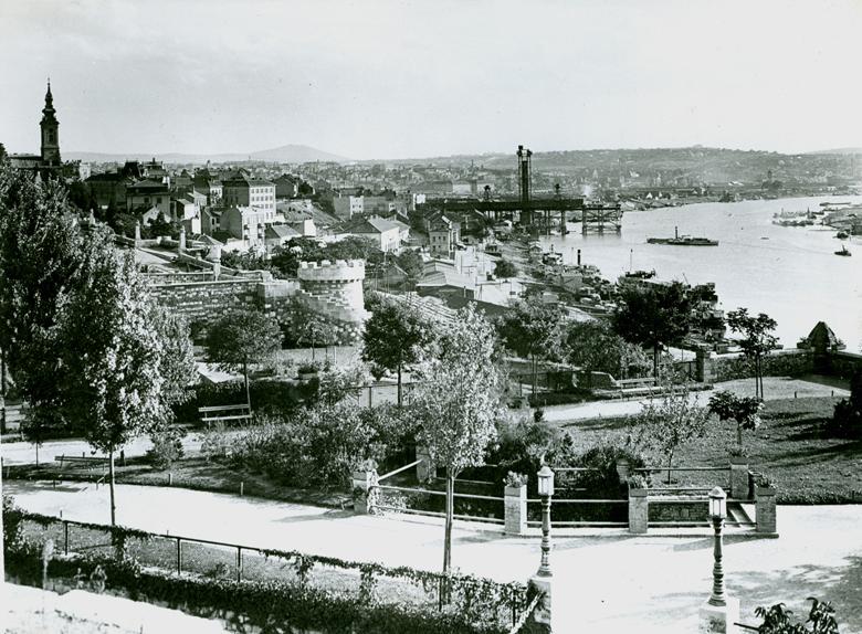 Slike starog Beograda - Page 4 Most-Kralja-Aleksandra-u-izgradnji