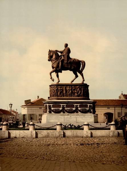 Slike starog Beograda - Page 5 Spomenik-Knezu-Mihajlu
