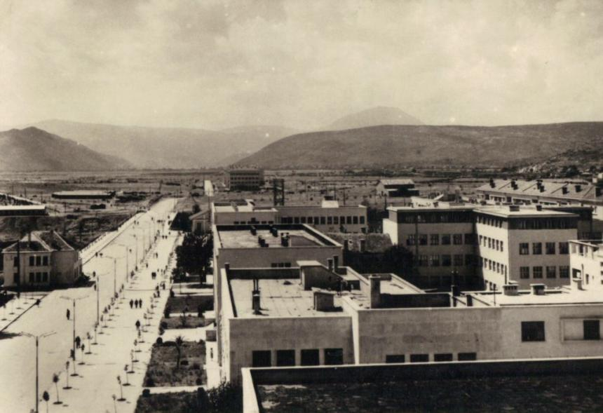 Gradovi starih dobrih vremena  Titograd-stara-podgorica-50tih1