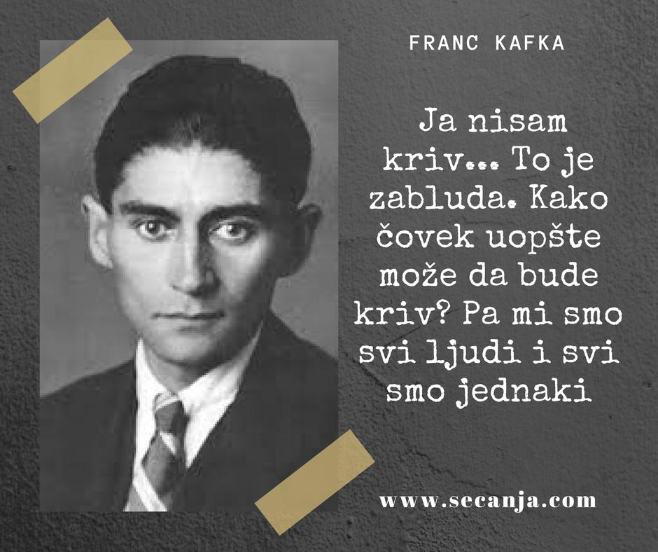 Mudre izreke propraćene slikom  Franc-Kafka-citati