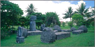 Ruines dans le pacifique Taga1