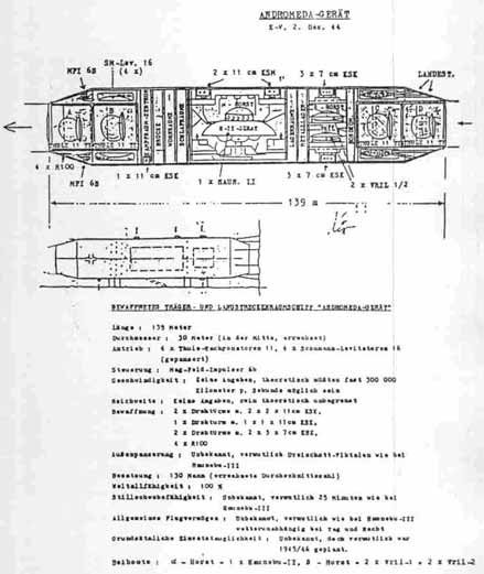 Les ovnis nazis en film! Andromedaplan