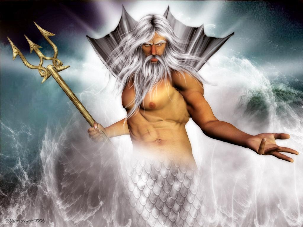 Các vị thần trong thần thoại Hy Lạp Poseidon-a