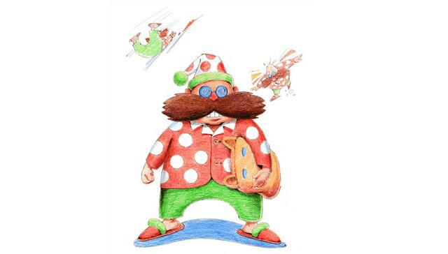 25 ans d'une mascotte Eggman