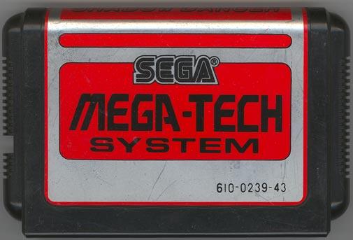 SMS et arcade ShadowDancer_MegaTech_Cart