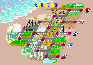 Out Run ( multi support ) OutRun_Course