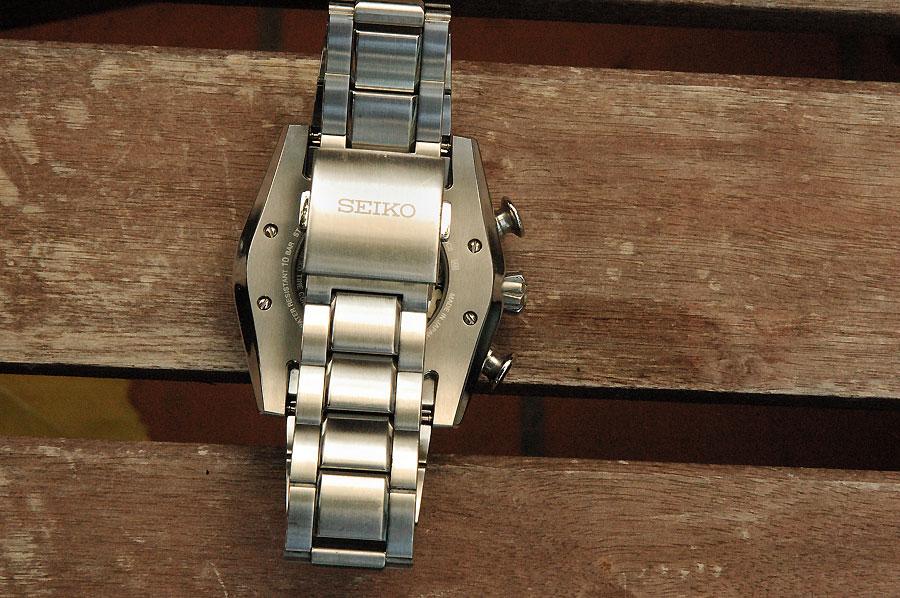 Vendido Seiko Ananta SRQ003J1 Cronógraf Automático 5