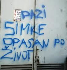 Beogradski grafiti i poruke komšijama Grafit-2