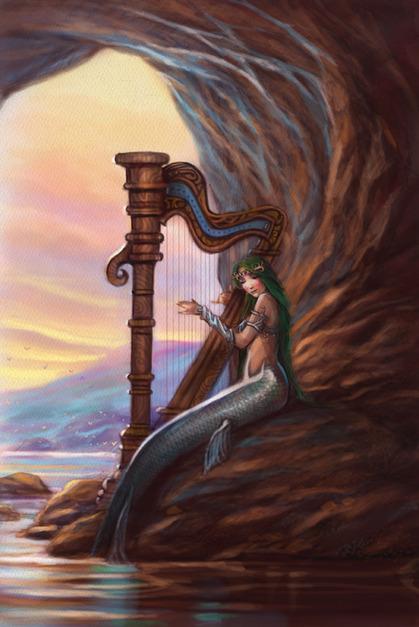 ****** SIRENAS ****** - Página 2 APmermaid_harp
