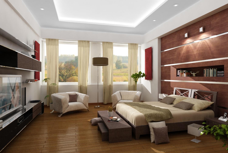 Mobiliario cómodo para el salón de la casita. Dormitorio2
