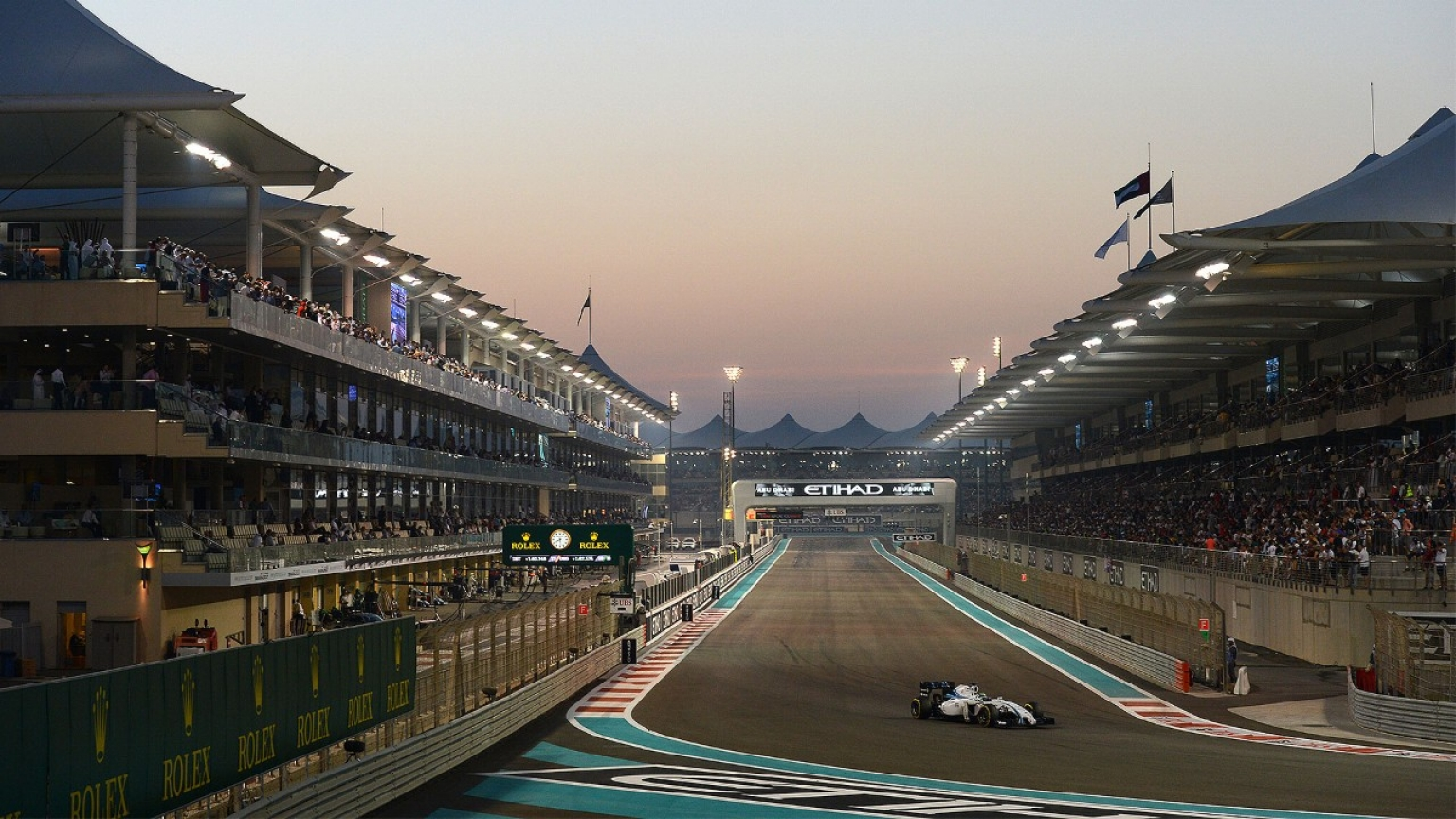 | F1 16 T.XVII | Sanciones Gran Premio Abu Dhabi YAS-MARINA