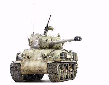 M51 Super Sherman. Tamiya 1/35 HJ60a