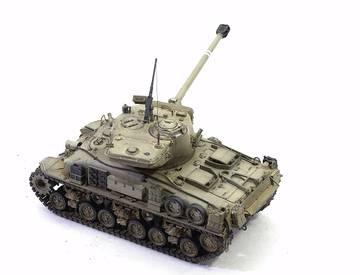 M51 Super Sherman. Tamiya 1/35 PK5QT