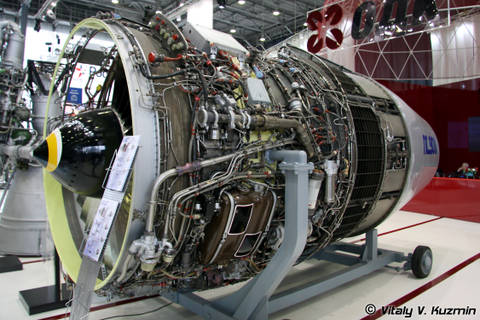 ПС-90А (Д-90А) - авиационный турбовентиляторный двухконтурный двухвальный двигатель 7sLqx