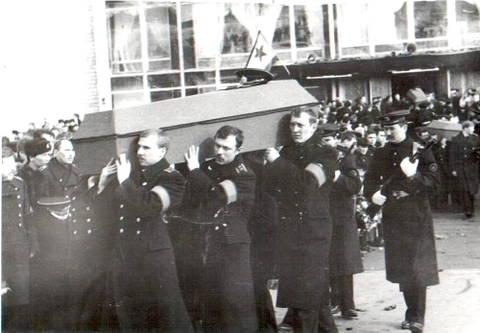 Авария АПЛ К-278 «Комсомолец» в Норвежском море 7 апреля 1989 г. EpKBv