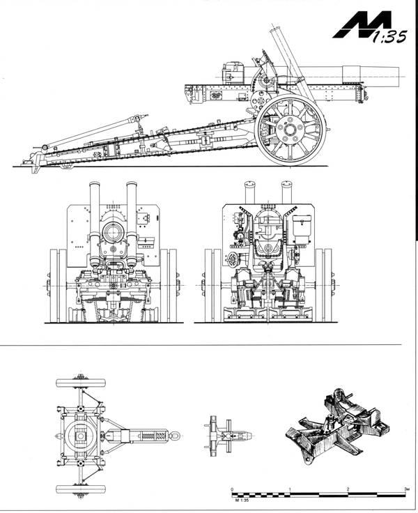 МЛ-20 - 152-мм гаубица-пушка образца 1937 года (52-Г-544А) HETqG