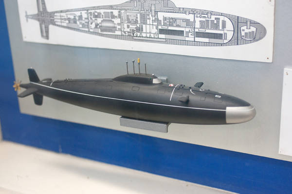 Проект 1710 «Макрель» - научно-исследовательская подводная лодка - лаборатория NE7O6
