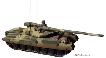 «Объект 490А» - опытный основной боевой танк (НИР «Бунтарь») XI7zx