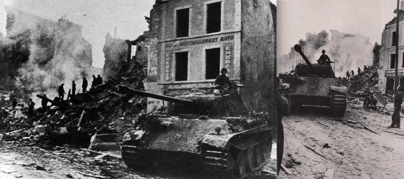 Diorama pour panzer IV Panther-8-juillet