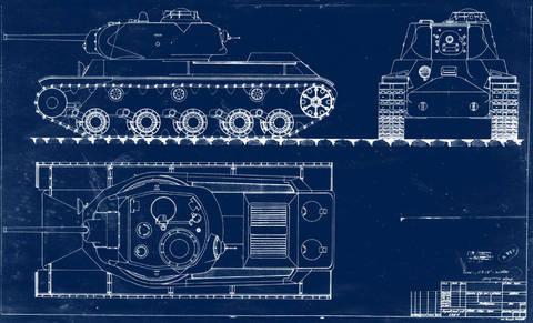 КВ-13 («Объект 233») - средний танк 3iaEe