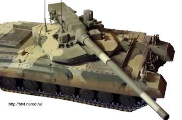 «Объект 490А» - опытный основной боевой танк (НИР «Бунтарь») ATgvG