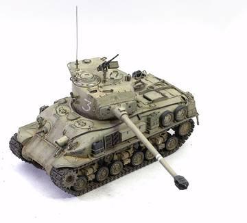 M51 Super Sherman. Tamiya 1/35 LUEZD