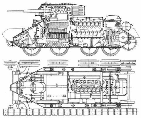 БТ-5 - лёгкий колесно-гусеничный танк TnNya