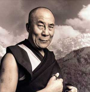 Sa Sainteté le Dalai-Lama à Paris  le 7 JUIN  2009 Dalai_lama