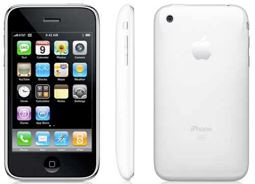 Ashlita's Cellphone! ♪ You're The Only Exception ♪ White-iphone-3g