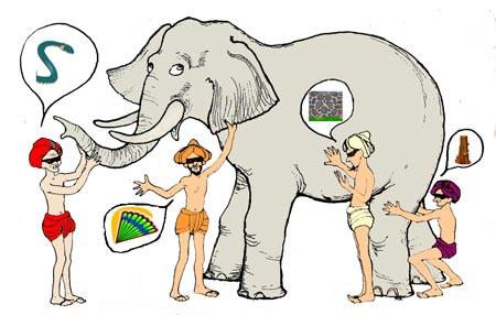 Los ciegos y el elefante [Parábola] Elefante_ciegos