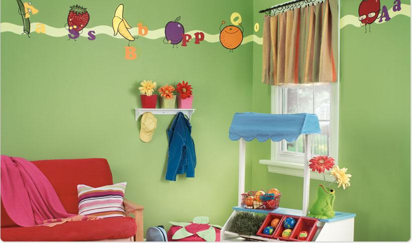 ديكورات لطيفة لغرف الاطفال DB06030039