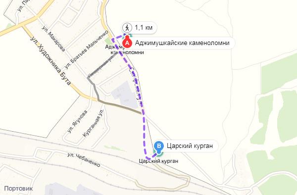 Экспедиции к выпаривателям родниковой воды - Страница 27 Tsarsky_kurgan_kamenolomni_karta