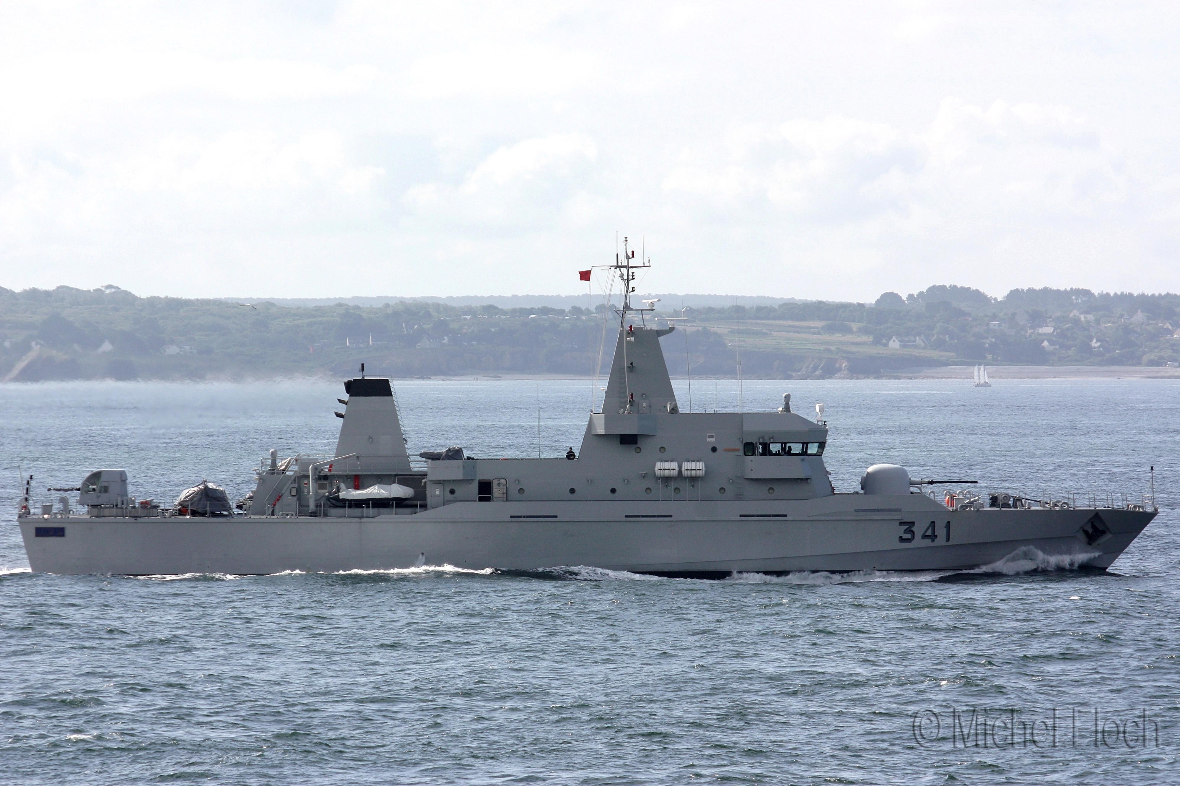 Royal Moroccan Navy OPV-70 / Classe Bir Anzarane - Page 3 1617252
