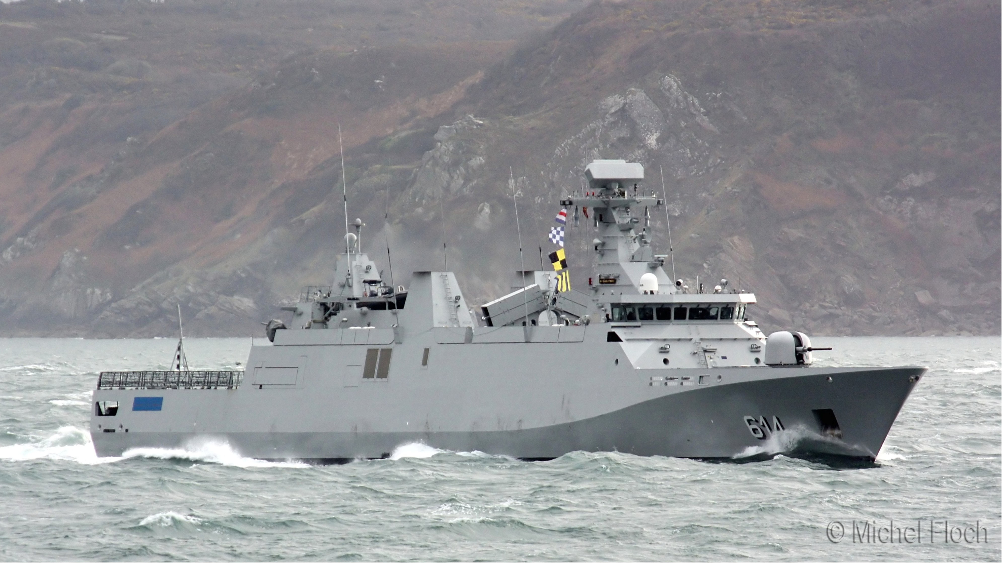 Royal Moroccan Navy Sigma class frigates / Frégates marocaines multimissions Sigma - Page 13 1773703