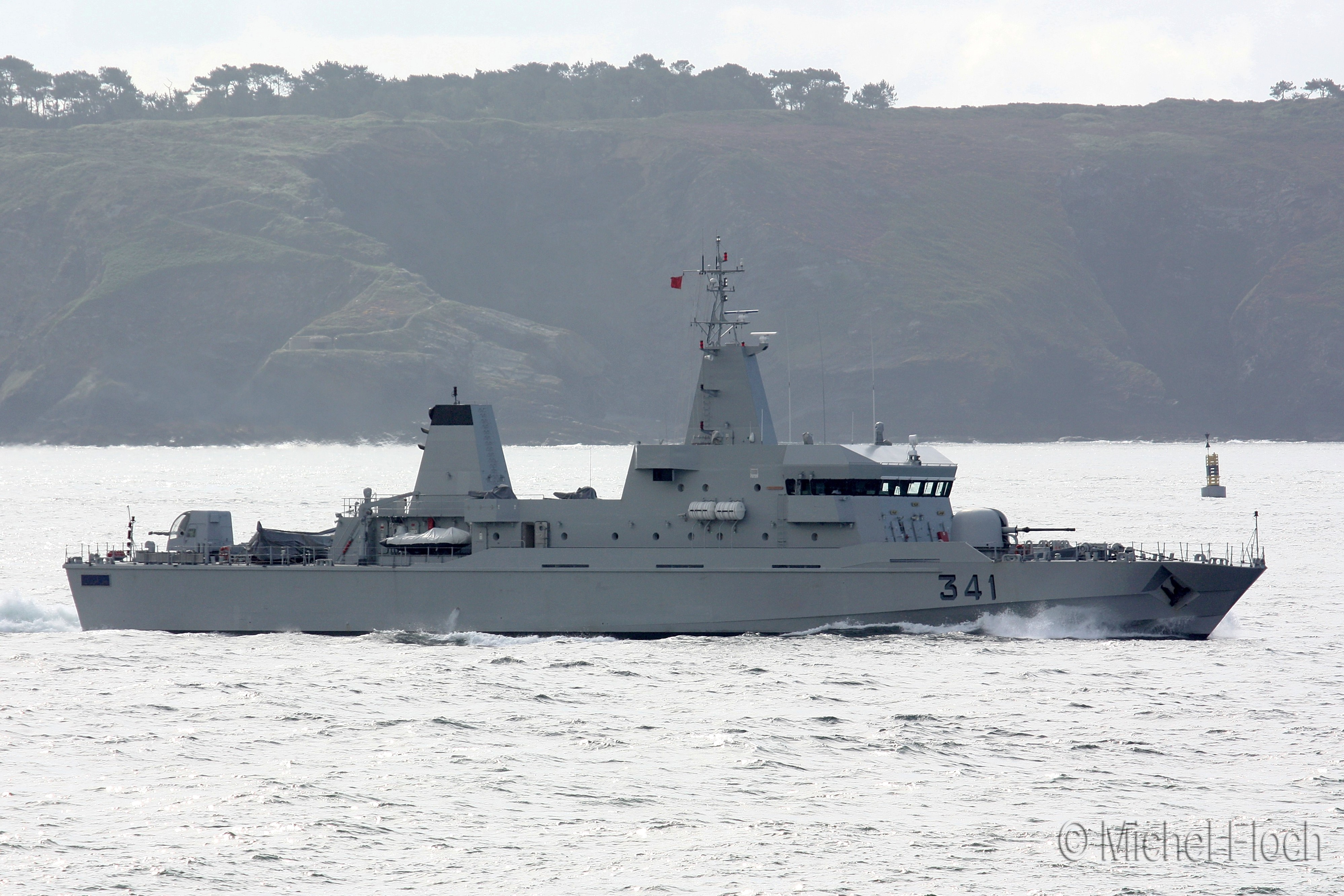 Royal Moroccan Navy OPV-70 / Classe Bir Anzarane - Page 3 1617253