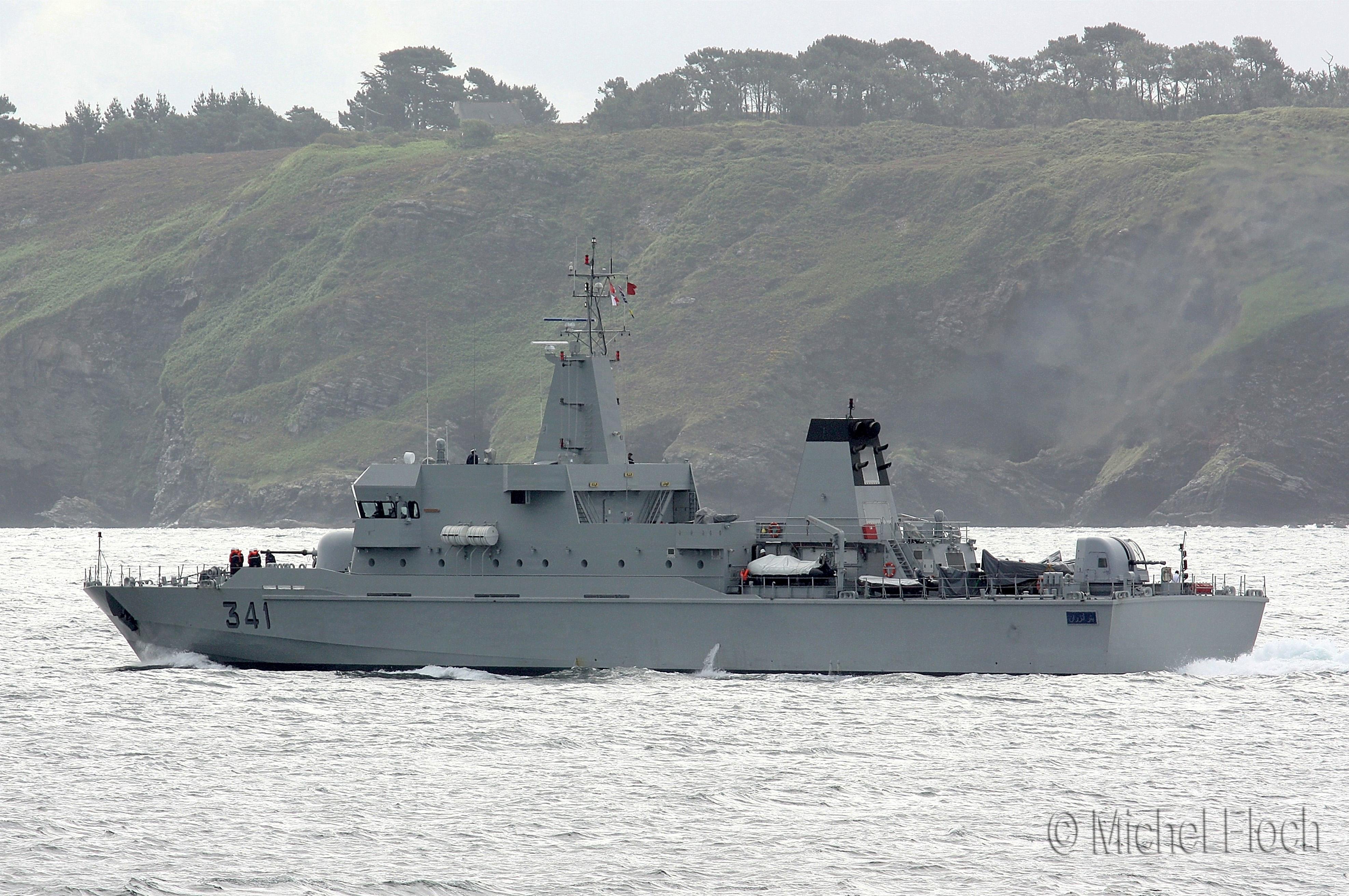 Royal Moroccan Navy OPV-70 / Classe Bir Anzarane - Page 3 1617158