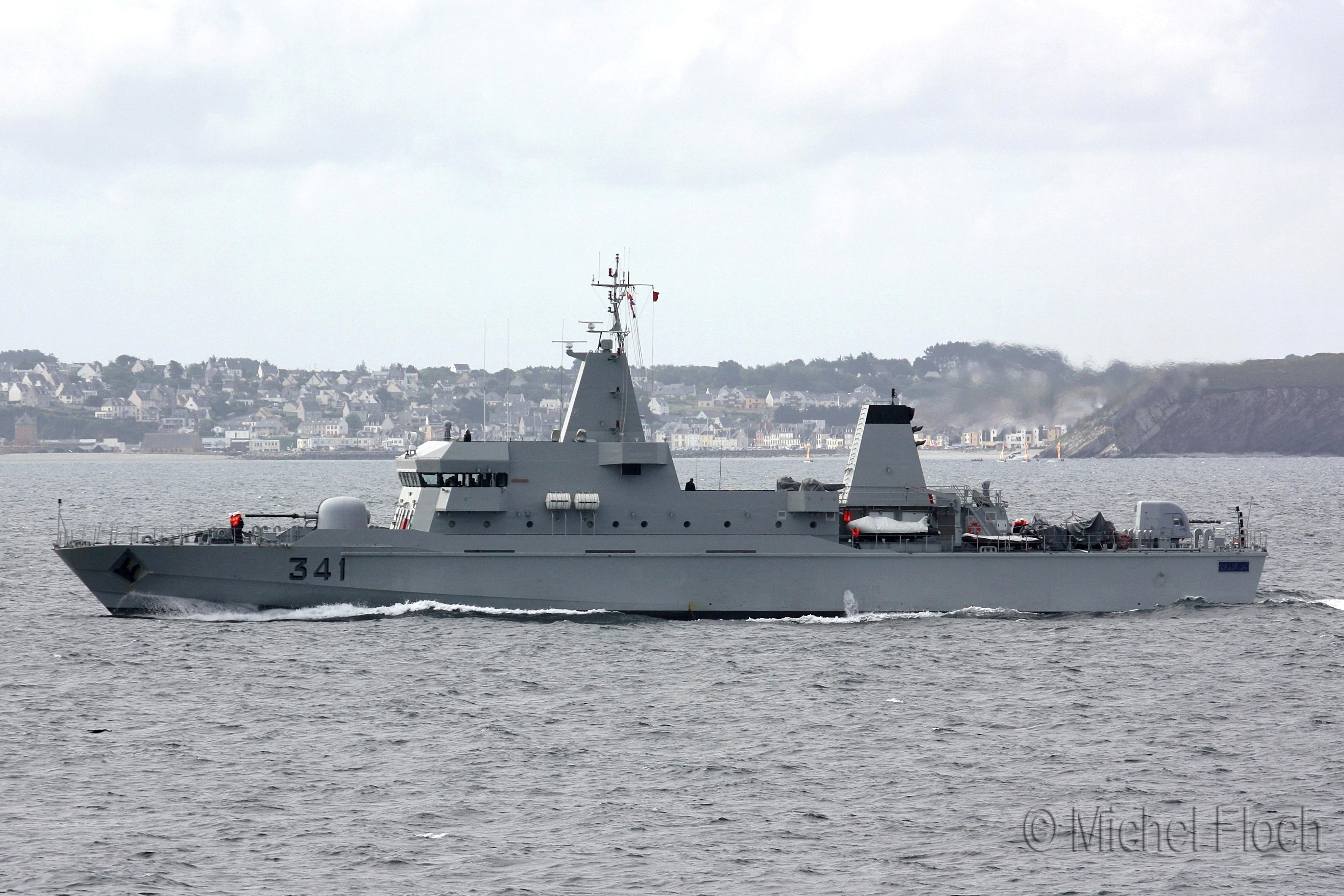 Royal Moroccan Navy OPV-70 / Classe Bir Anzarane - Page 3 1617159