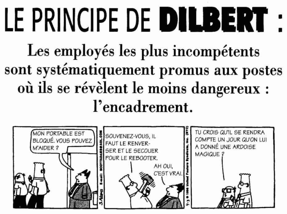 Images humoristiques.... Dilbert