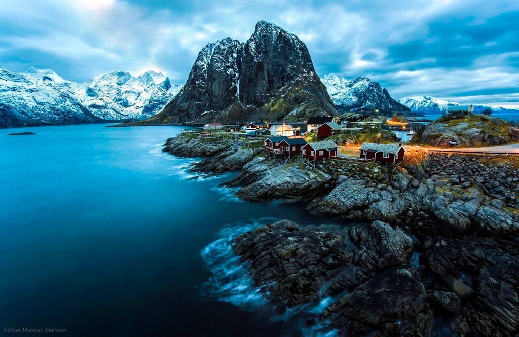 Роскошные пейзажи Норвегии Image182