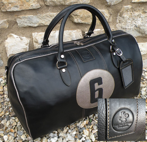 MERCHANDISE LOTUS John-player-team-lotus-fittipaldi-no.6-leather-holdall-247-p