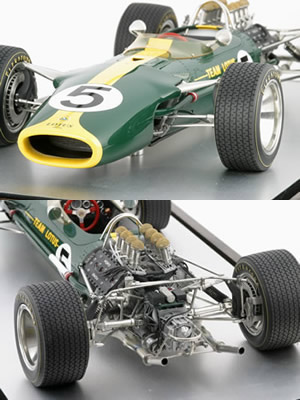 MERCHANDISE LOTUS Lotus-49-1-8-scale-model-by-aspect-196-p