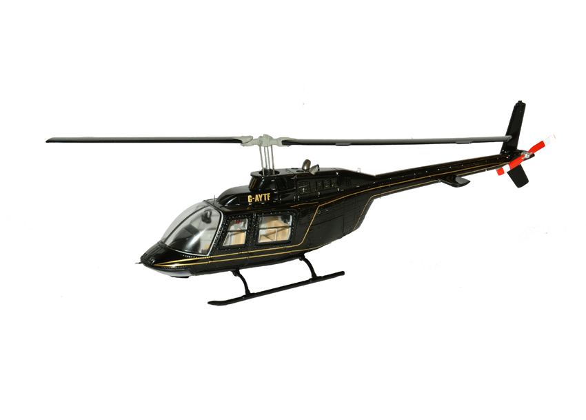 MERCHANDISE LOTUS Spark-s0271-team-lotus-helicopter-1982-1-43-scale-model-179-p