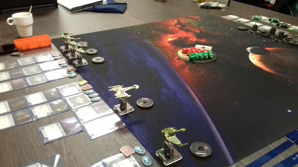 [130 SP] Klingonische Armada überfällt das romulanische System D'Deridex 20181125_145336a
