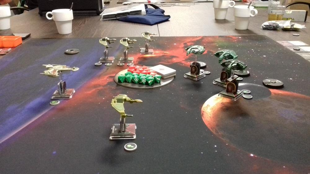 [130 SP] Klingonische Armada überfällt das romulanische System D'Deridex 20181125_152107a