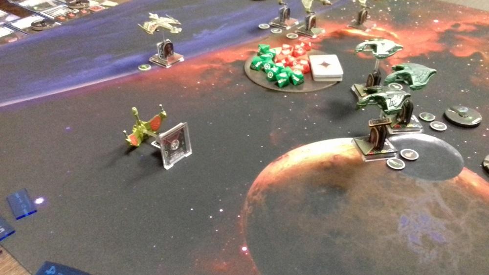 [130 SP] Klingonische Armada überfällt das romulanische System D'Deridex 20181125_152413a