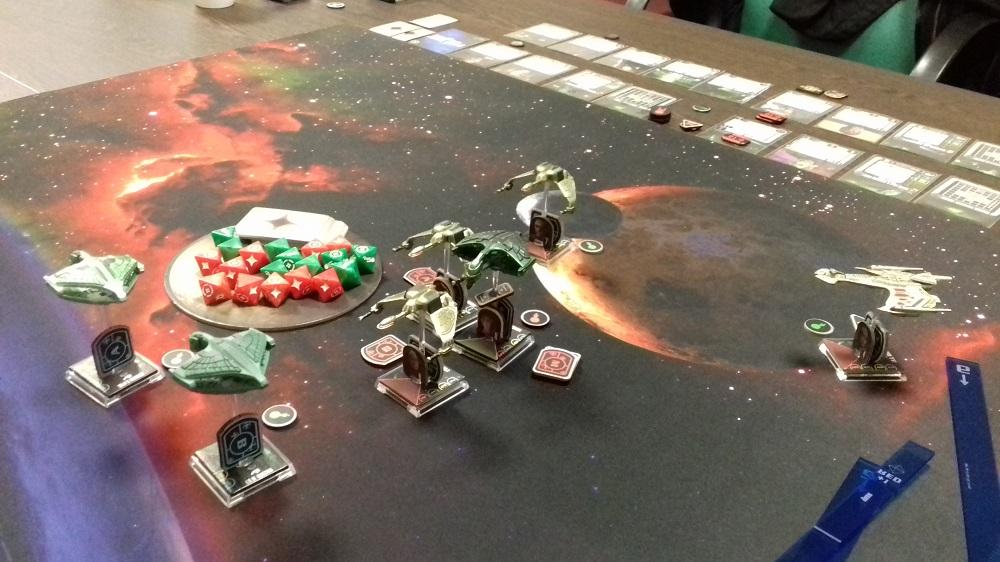 [130 SP] Klingonische Armada überfällt das romulanische System D'Deridex 20181125_165640a