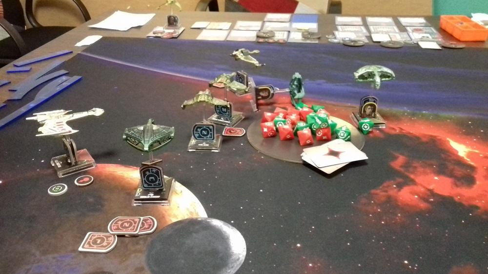 [130 SP] Klingonische Armada überfällt das romulanische System D'Deridex 20181125_173113a