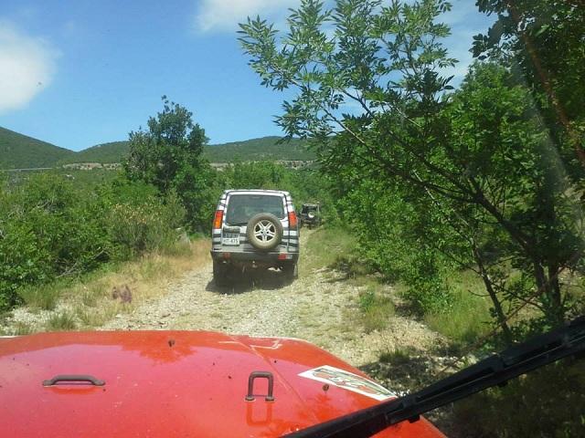 Bespućem lijepom Našom (Off-road) - Motiv fotografiranja: Ljepote nedostupne cestom Dalmacija-2014-g