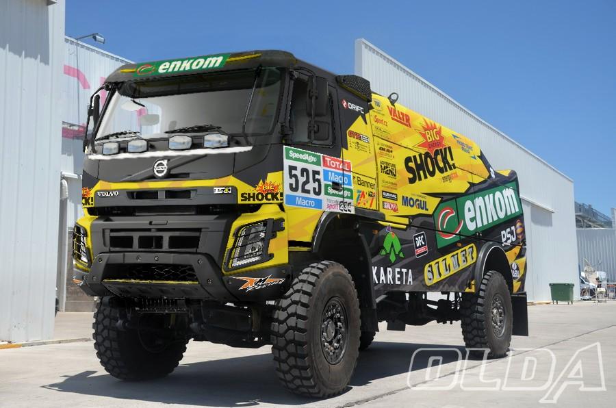 RC4WD : Camion Dakar Km-racing-volvo-